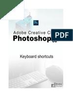 Adobe Photoshop CC 2015.5 Keyboard shortcuts