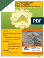 Trabajo t1-Plan de Cierre de Minas Del Proyecto Quellaveco