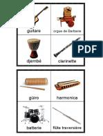 Loto Sonore Des Instruments de Musique 2