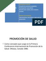 Tema 4 Promocion de Salud y Niveles de Prevencion - Copia