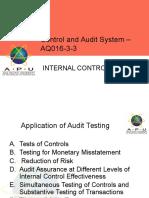 CH 2- Internal Control in Planning