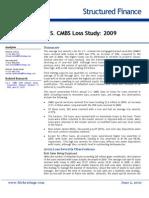 US CMBS Loss Study - 2009