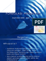 FORMULASI PROBIOTIK