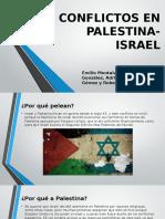 Conflictos en Palestina Israel