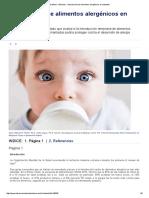 IntraMed - Artículos - Introducción de Alimentos Alergénicos en Lactantes