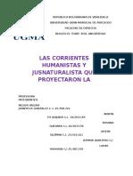 Corrientes Humanistas HIST