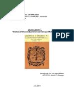 Análisis Del Discurso de Fransciso Martínez de Mata - Dr. Andrés Giussepe