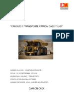 Carguío y Transporte Camion Caex y Lhd..Final