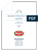 Mapro  Brand strategy