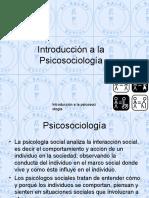 Introducción a La Psicosociología