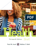 [Paul Insel, Walton Roth] Connect Core Concepts in Health 13th Brief Edition