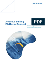 Acceso Amadeus Selling Platform Connect