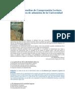 Preguntas resueltas de Comprensión Lectora para el examen de admisión de la Universidad del Cauca.docx
