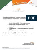 ATPS Direito 8 Direito Comercial Empresarial II