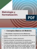 Metrología y Normalización