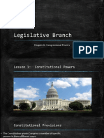 lesson 1-constitutional powers