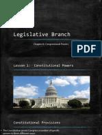 lesson 1-constitutional powers