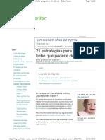 21 Estrategias Para Calmar a Un Bebe Que Padece de Colicos