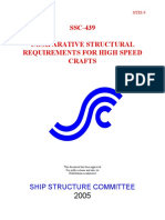 Comparative Structural Requirements for High Speed Crafts