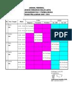 Jadwal Remidi UKK 09-10