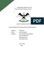 Trabajo de Investigación FISICA