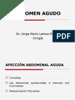 Abdomen Agudo - Jorge