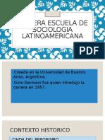 Primera Escuela de Sociologia Latinoamericana