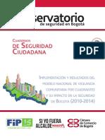 Cuaderno de Seguridad Ciudadana 2. Implementación y Resultados de MNVCC y Su Impacto en La Seguridad de Bogotá (2008-2014) (1)