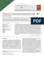 28884_Analysis of Crude Oils Using Gas Purge Microsyringe Extraction Coupled