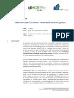 VI Encuentro CONVOCATORIA Definitiva en PDF Agosto de 2016
