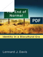 Lennard J Davis-The End of Normal_ Identity in a Biocultural Era-University of Michigan Press (2013)