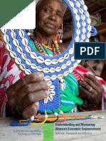 Understanding Measuring Womens Economic Empowerment