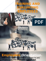 Training and Evaluating Employees