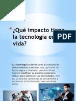 Qué Impacto Tiene La Tecnología en La1