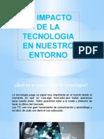 Impacto de La Tecnologia en Nuestro Entorno Eunice