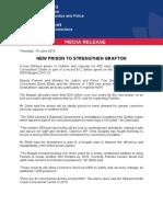MR15 New Prison to Strengthen Grafton