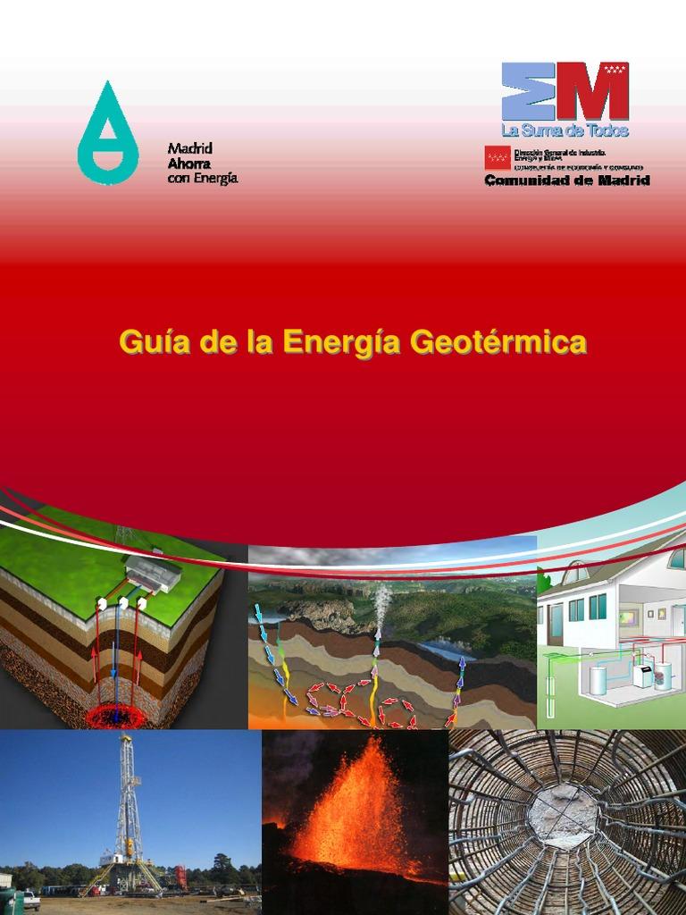 Resultado de imagen de Guillermo Llopis Trillo y Vicente Rodrigo Angulo. Guía de la Energía geotérmica