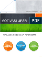 MOTIVASI UPSR