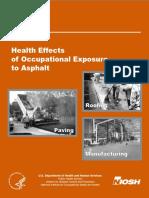 Efeitos Da Exposição Ao Asfalto