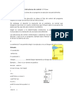 Estructuras de Control C Y C
