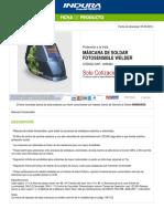 1036464-Máscara de Soldar Fotosensible Welder
