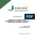 Plan de Negocio - CACAO