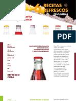 Folleto - 6 Recetas, 6 Refrescos