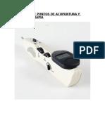 Detector de Puntos de Acupuntura y Auriculoterapia
