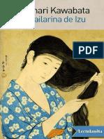 La Bailarina de Izu - Yasunari Kawabata