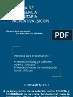 Sistema de Inteligencia Comunitaria Preventiva (Sicop)