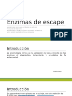 Enzimas de Escape