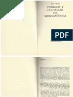 Wolf, Eric. Pueblos y Culturas de Mesoamérica