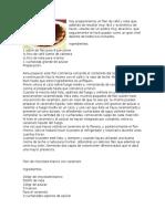 RECETAS FLANES 10
