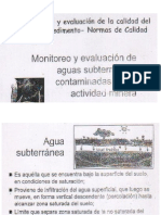 Calidad de Aguas Subterraneas 0º1